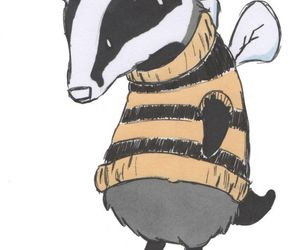 adorable, badger, and outfit image