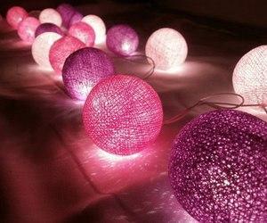 pink, light, and purple image