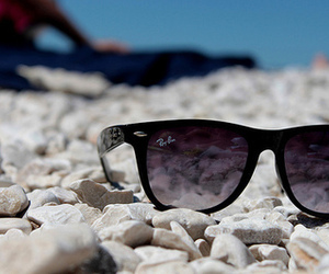 sunglasses, summer, and photography image