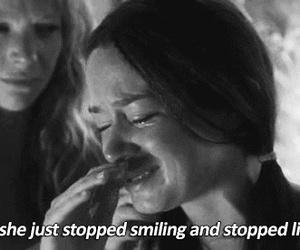 sad, broken, and cry image