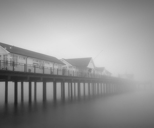 fog, Suffolk, and long exposure image