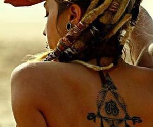 beautiful, rasta, and woman image