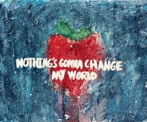 the beatles, Across the Universe, and strawberry image