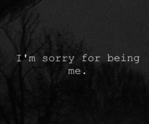 sorry, quotes, and me image