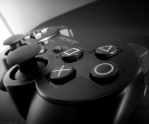 black and white, photography, and ps3 image