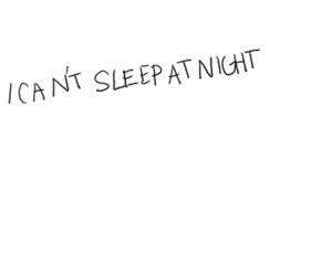 sleep, night, and text image