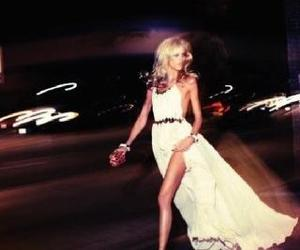 fashion, dress, and blonde image