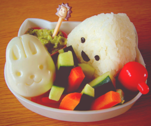 bento, cute, and food image