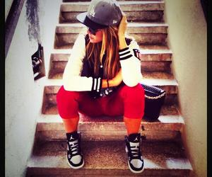 girl, style, and swager image