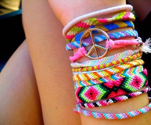 bracelet and peace image