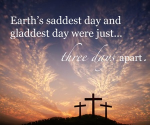 easter, jesus, and cross image