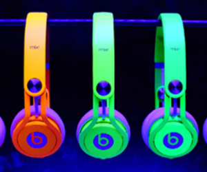 beats, neon, and music image
