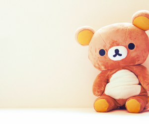 bear, toy, and japan image