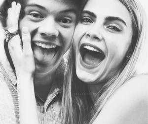 Harry Styles, cara delevingne, and one direction image