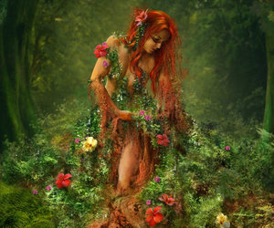 art, flowers, and earth image