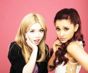 ariana grande, jennette mccurdy, and cat image