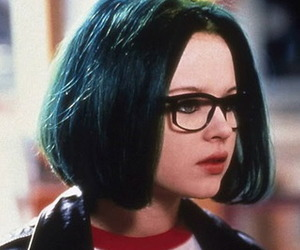 blue, enid, and ghost world image