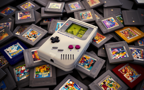 game and gameboy image