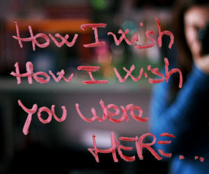 Pink Floyd, wish, and wish you were here image