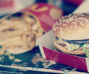 big mac, burger, and food image