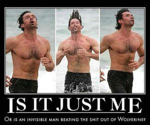 funny, wolverine, and lol image