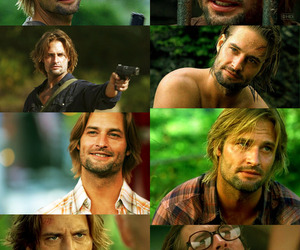 james ford, lost, and sawyer lost image