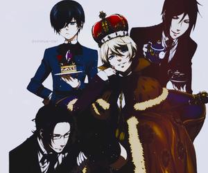 ciel, yaoi, and kuroshitsuji image