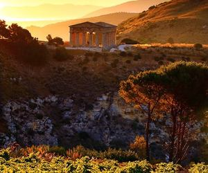 sicily, italy, and segesta image