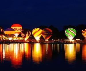 light, balloon, and life image