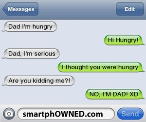funny, texts, and smartphowned image