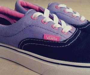 lindo, vans, and rosa image
