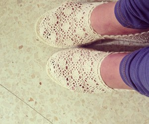crochet, shoes, and summer image
