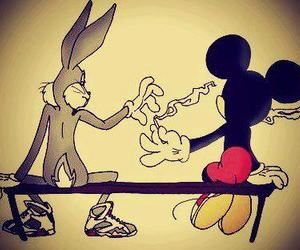 mickey, smoke, and weed image