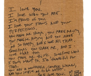 cardboard, flaws, and I Love You image
