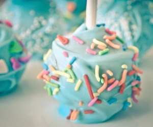 sweet, blue, and pastel image
