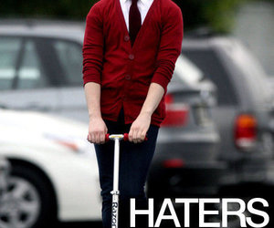 glee, haters, and kurt image