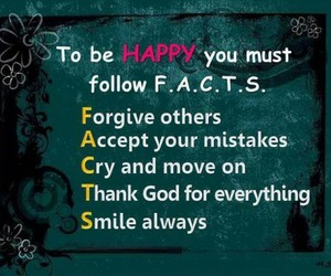 facts, happy, and smile image