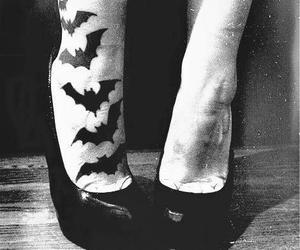 tattoo, bat, and bats image