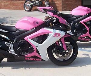 moto suzuki gsxr pink image