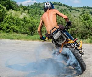 moto, wow, and crazy . drive stunt . image