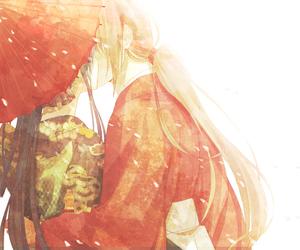 anime, kiss, and couple image