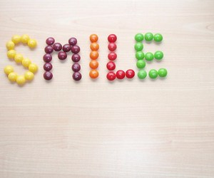 smile, cute, and candy image