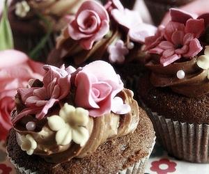 cupcake and shabby chic image