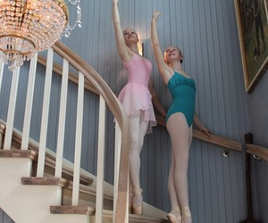 ballerina, ballet, and live image