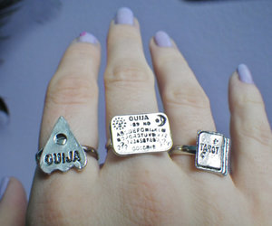 ouija, rings, and nails image