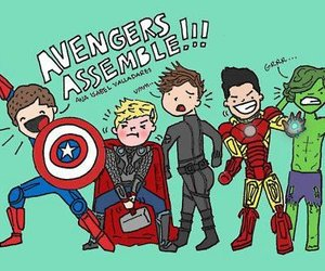one direction, Avengers, and 1d image