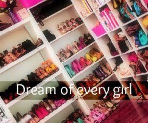 girl, Dream, and shoes image