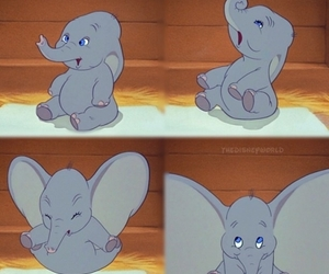 disney, dumbo, and cute image