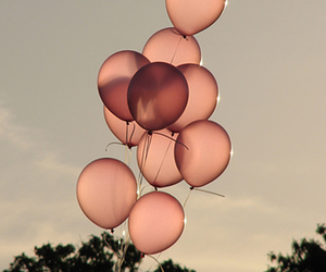 pink and balloon image