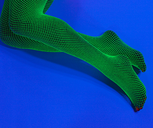 legs, blue, and green image